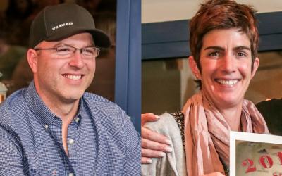 Congratulations to Morey Fisk and Sabine Schmid!